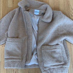 I.AM.GIA teddy bear jacket